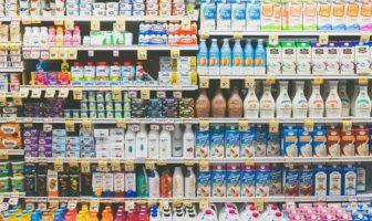 banco frigo reparto latticini